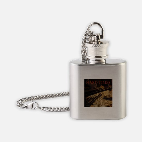 Hard Times Flask Necklace