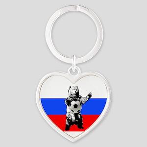 Russian Football Flag Keychains