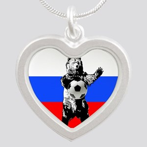 Russian Football Flag Necklaces