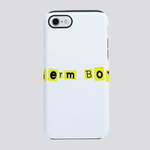 Hilariously Funny Germ Boy for iPhone 7 Tough Case
