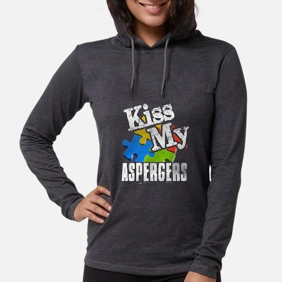 Kiss my Aspergers shirt Long Sleeve T-Shirt