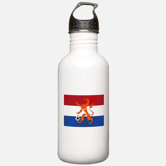 Netherlands Soccer Water Bottle