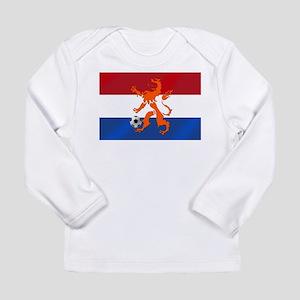 Netherlands Soccer Long Sleeve Infant T-Shirt