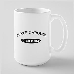 North Carolina Disc Golf Large Mug