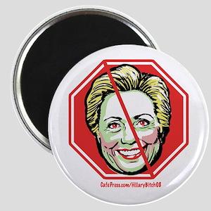 Hillary Bitch '08 Magnet