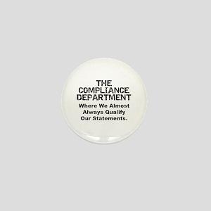 Qualified Compliance Mini Button
