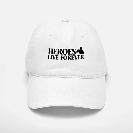 Heroes Live Baseball Baseball Cap