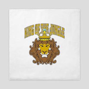 King of the Jungle Queen Duvet