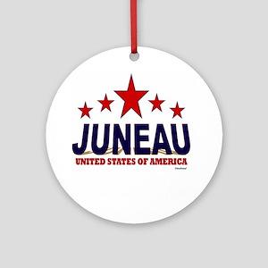 Juneau U.S.A. Ornament (Round)