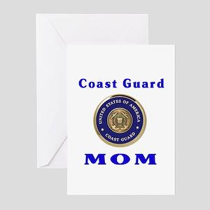 COAST GUARD MOM Greeting Cards (Pk of 10)