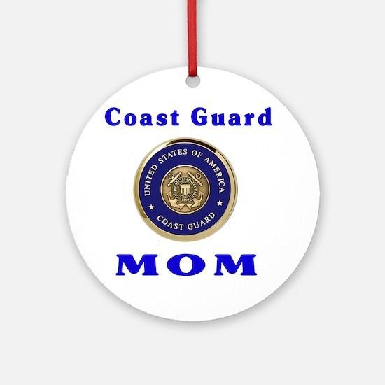 COAST GUARD MOM Ornament (Round)