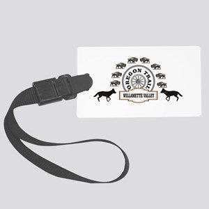 willamette valley ot fun Large Luggage Tag