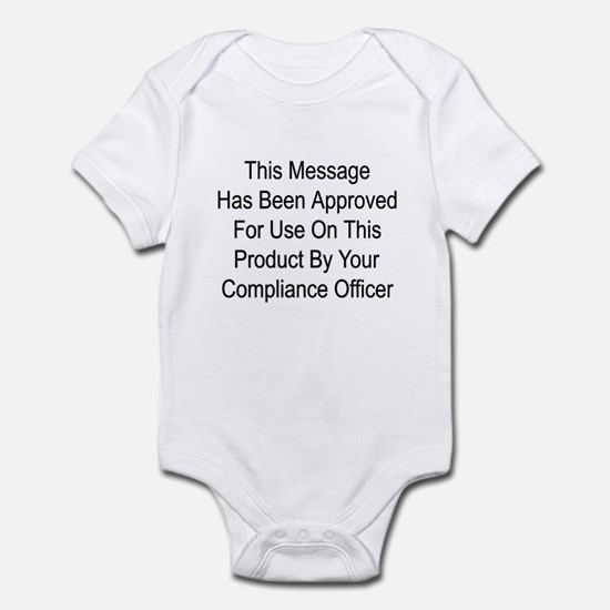 Compliance Approval Infant Bodysuit