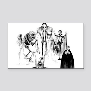 Classic movie monsters Rectangle Car Magnet