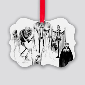 Classic movie monsters Picture Ornament