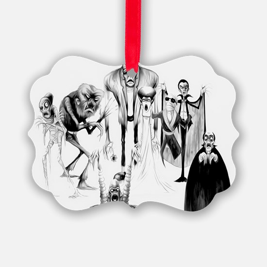 Classic movie monsters Ornament