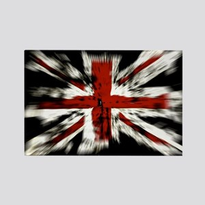 UK Flag England Rectangle Magnet