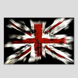 UK Flag England Postcards (Package of 8)