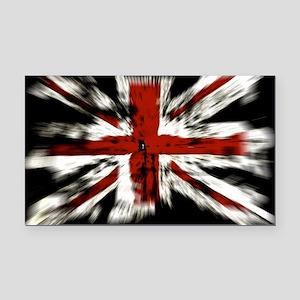 UK Flag England Rectangle Car Magnet