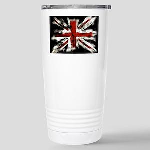 UK Flag England Stainless Steel Travel Mug
