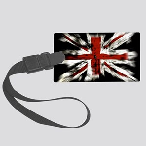 UK Flag England Large Luggage Tag