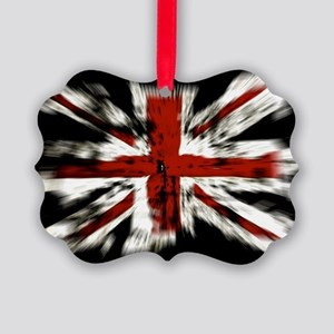 UK Flag England Picture Ornament