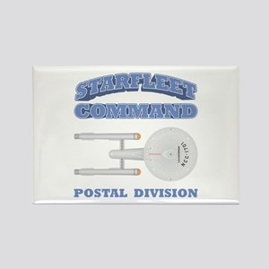 Starfleet Postal Division Rectangle Magnet