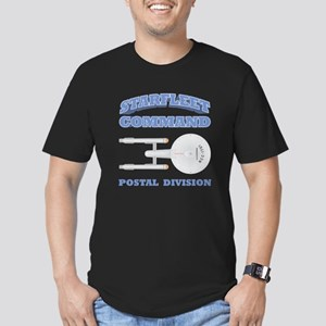 Starfleet Postal Division Men's Fitted T-Shirt (da