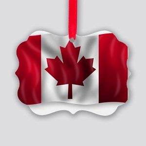 Canada Flag Picture Ornament