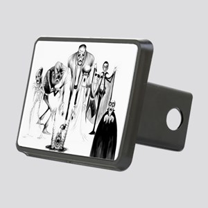 Classic movie monsters Rectangular Hitch Cover