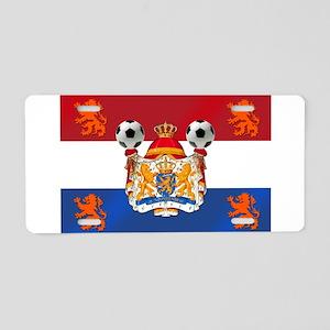 Netherlands Football Lions Aluminum License Plate