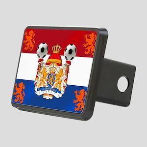 Netherlands Football Lions Rectangular Hitch Cover