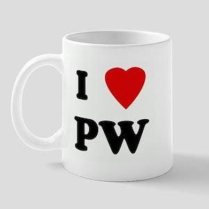 I Love PW Mug
