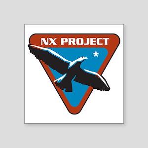 "ENTERPRISE NxProject Square Sticker 3"" x 3"""