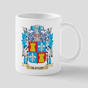 Alonzo Coat Of Arms Mugs