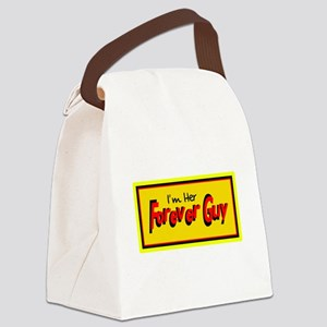 Her Forever Guy Canvas Lunch Bag