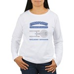 Starfleet Welding Division Women's Long Sleeve T-S