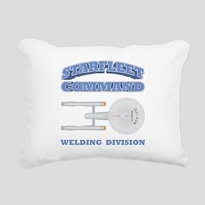 Starfleet Welding Division Rectangular Canvas Pill