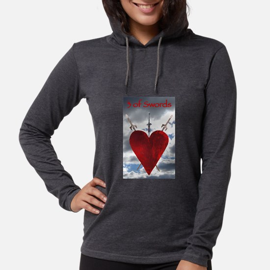 3 of Swords Long Sleeve T-Shirt