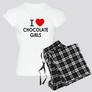 I LOVE CHOCOLATE GIRLS Pajamas