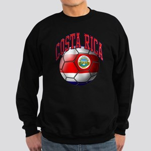 Flag of Costa Rica Sweatshirt (dark)