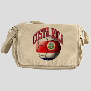 Flag of Costa Rica Messenger Bag