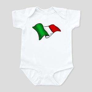 Wavy Italian flag Infant Bodysuit