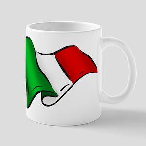 Wavy Italian Flag Mug