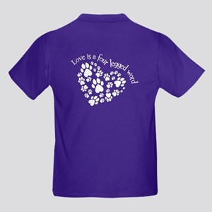 2-Sided Love Is 4-Legged T-Shirt