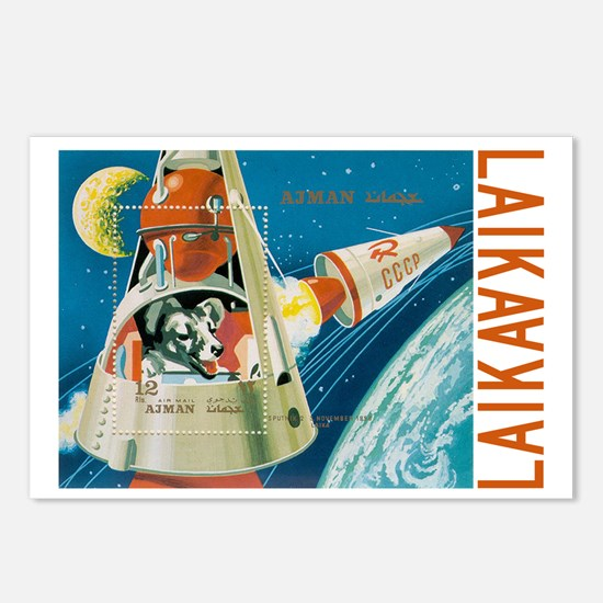 laika Postcards (Package of 8)