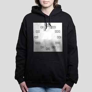 Binary Clock Hooded Sweatshirt