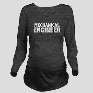 me_black Long Sleeve Maternity T-Shirt