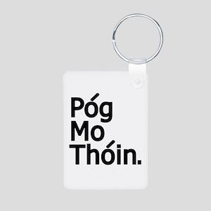 POG MO THOIN Aluminum Photo Keychain