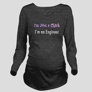 chick Long Sleeve Maternity T-Shirt